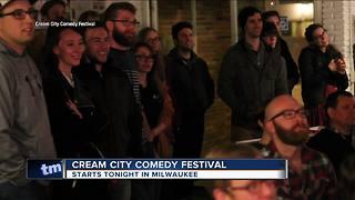 Cream City Comedy Festival begins Thursday
