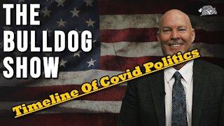 Timeline of Covid Politics   The Bulldog Show
