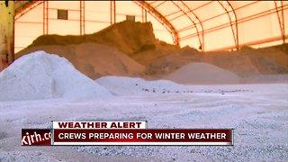 ODOT crews preparing for winter weather