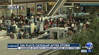 Normal operations resume at Denver airport in time for holiday rush