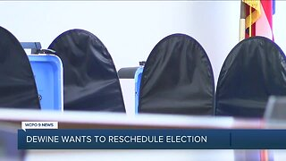 DeWine recommends postponing primary election until June