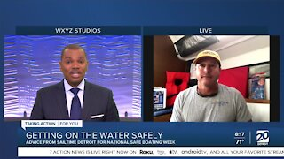 National Safe Boating Week with SailTime Detroit