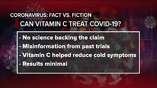 Ask Dr. Nandi: Fact check: Could taking vitamin C cure or prevent COVID-19?