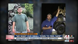 Search continues in Clinton, Caldwell counties for missing Wisconsin brothers