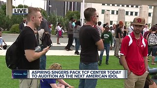 'American Idol' auditions being held today in Detroit