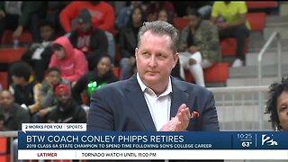 Conley Phipps Calls It A Career