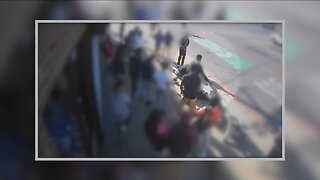 Detroit police looking for 3 teens in apparent random beating at bus stop