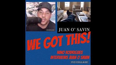 JUAN O SAVIN & NINO RODRIGUES
