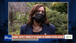 Border crisis rages as Kamala Harris condemns border patrol agents on horseback