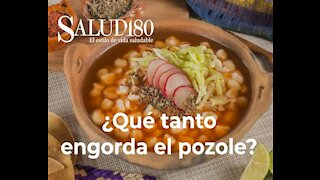 Does eating pozole make me gain weight?