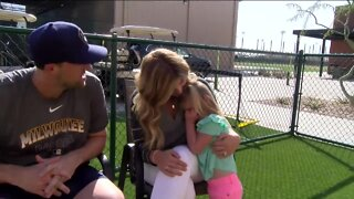 Brewers' Josh Lindblom worries for his family amid COVID-19 pandemic