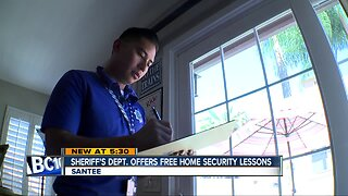 Sheriff's department offering free in-home security inspections