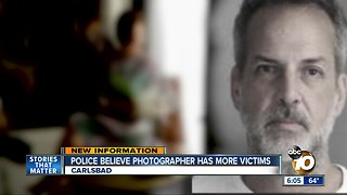 Police believe photographer has more potential victims