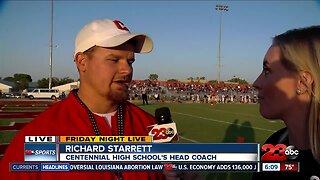 Live interview with Centennial Head CoachRichard Starrett