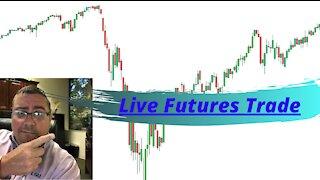 NQ live futures trading