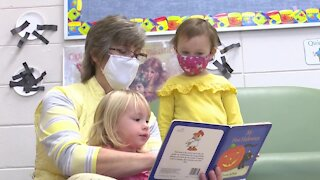 Student benefits from child care grant