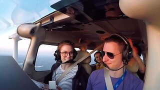 Pilot Pranks Girlfriend With Pretend Crash Landing Before Proposing To Her