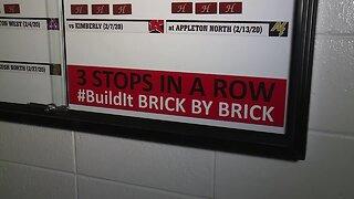 "Hortonville building program ""brick by brick"""
