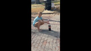 Coke fountain