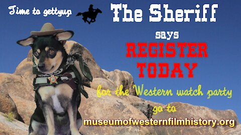 Western Watch Party starts Oct. 9th