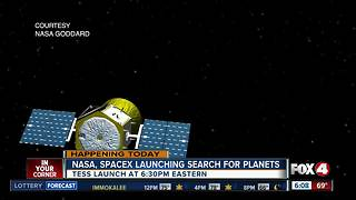 NASA launches Planet Hunter from Cape Canaveral