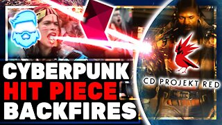 Instant Regret! Cyberpunk 2077 HITPIECE Totally Backfires! Cyberpunk2077 Memes & Reviews Delayed