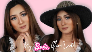 Barbie Glam Makeup Look