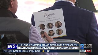 Helping Up Mission breaks ground on new facility