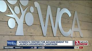 Women's Center for Advancement launches domestic violence awareness campaign