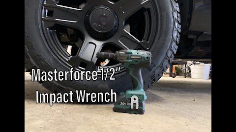 """Masterforce 1/2"""" Impact Wrench"""
