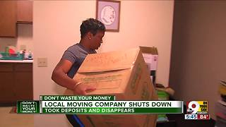 Don't let moving company leave you stranded