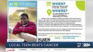 Local boy beats rare form of leukemia, years later