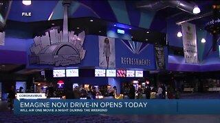 Emagine Novi drive-in opens today