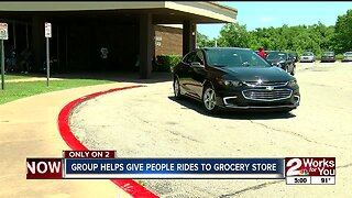 Group helps give people rides to grocery store