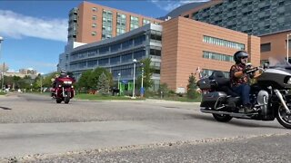 Bikers hope impromptu toy run helps with depleted supply at Children's Hospital in Aurora