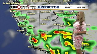 FORECAST: Few showers possible Thursday afternoon