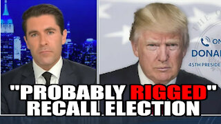 """Trump Claims California Recall Election is """"Probably Rigged"""""""