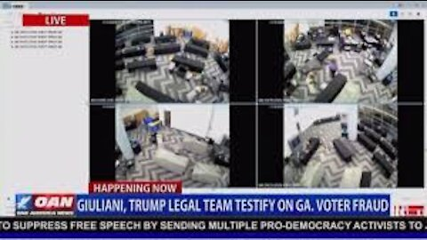CAUGHT: Surveillance Footage Shows GA Poll Worker Scanning The Same Batch Of Ballots MULTIPLE Times