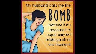 Husband calls me the bomb [GMG Originals]