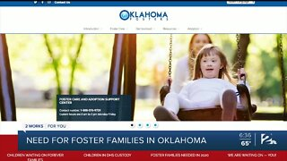 Need for foster families in Oklahoma during pandemic