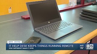 Cartwright IT desk keeps things running during remote learning