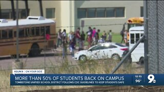 Tombstone Unified School District sees more than 50% of students return to campus