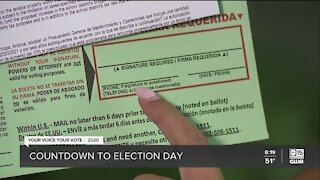 Secretary of State Katie Hobbs talks countdown to Election Day