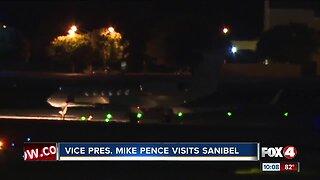 Vice President Mike Pence sightings on Sanibel