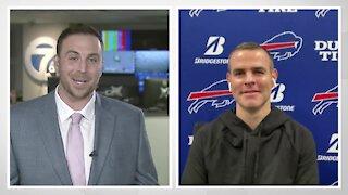 Brandon Beane joins Matt Bove to discuss the Bills plans ahead of the NFL Draft