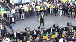 SOUTH AFRICA - Johannesburg - ANC CBD celebrations (videos) (ttp)