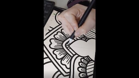 Incredible Mandala Art Is So Satisfying And Relaxing To Watch!