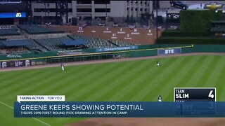 Riley Greene keeps showing potential for Tigers