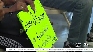 Community leaders meet to discuss crime