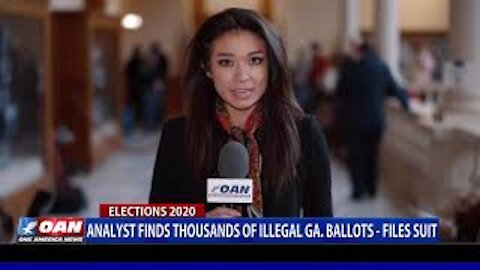 Analyst finds thousands of illegal Ga. ballots, files suit